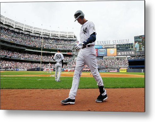 People Metal Print featuring the photograph Derek Jeter by Jim Mcisaac