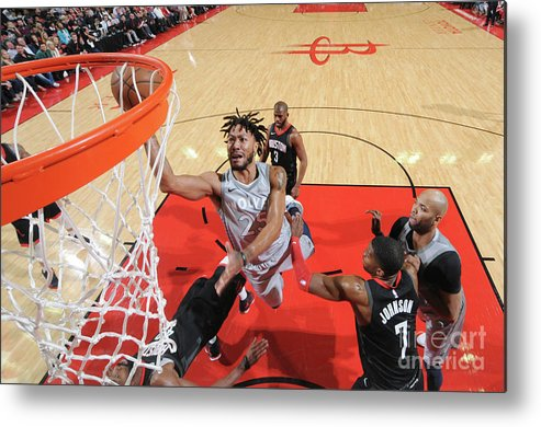 Playoffs Metal Print featuring the photograph Derrick Rose by Bill Baptist