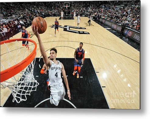 Nba Pro Basketball Metal Print featuring the photograph Derrick White by Mark Sobhani