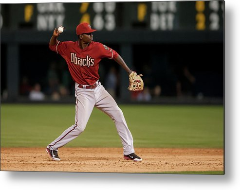 Ninth Inning Metal Print featuring the photograph Didi Gregorius by Dustin Bradford