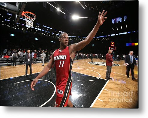 Nba Pro Basketball Metal Print featuring the photograph Dion Waiters by Nathaniel S. Butler