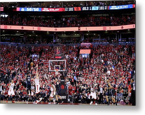 Playoffs Metal Print featuring the photograph D.j. Augustin by David Sherman