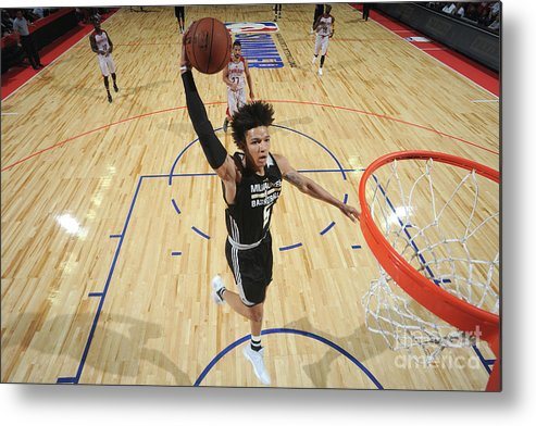 Nba Pro Basketball Metal Print featuring the photograph D.j. Wilson by Garrett Ellwood
