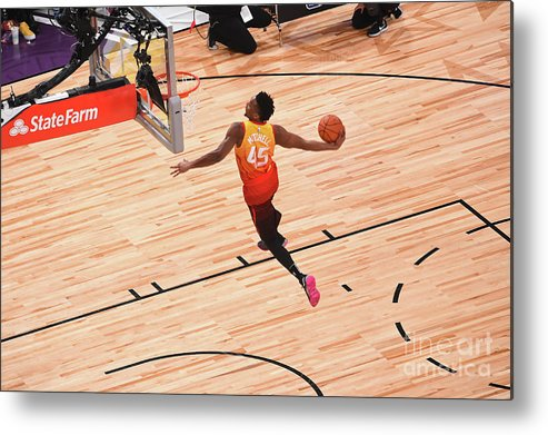 Event Metal Print featuring the photograph Donovan Mitchell by Noah Graham
