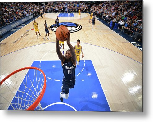 Nba Pro Basketball Metal Print featuring the photograph Dorian Finney-smith by Jesse D. Garrabrant