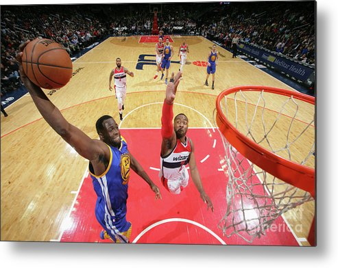 Nba Pro Basketball Metal Print featuring the photograph Draymond Green by Ned Dishman