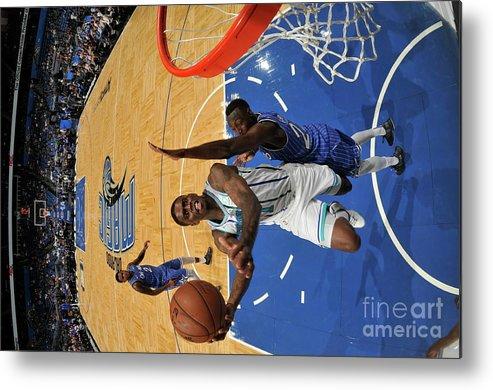 Nba Pro Basketball Metal Print featuring the photograph Dwayne Bacon by Fernando Medina