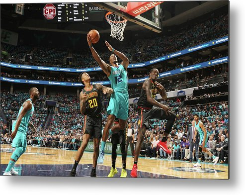Nba Pro Basketball Metal Print featuring the photograph Dwight Howard by Brock Williams-smith