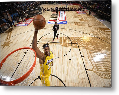 Nba Pro Basketball Metal Print featuring the photograph Dwight Howard by Jesse D. Garrabrant