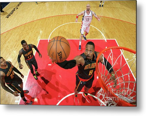 Playoffs Metal Print featuring the photograph Dwight Howard by Ned Dishman