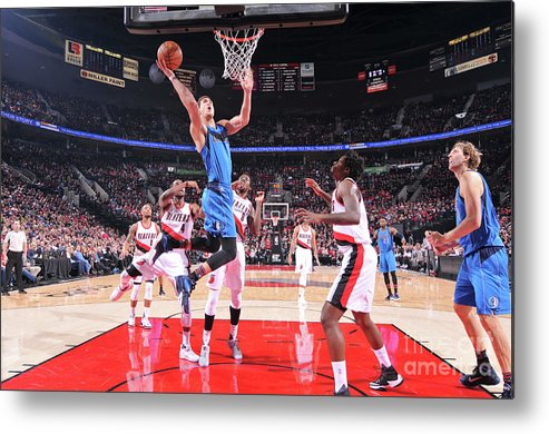 Dwight Powell Metal Print featuring the photograph Dwight Powell by Sam Forencich