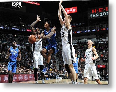 Nba Pro Basketball Metal Print featuring the photograph Elfrid Payton by Mark Sobhani