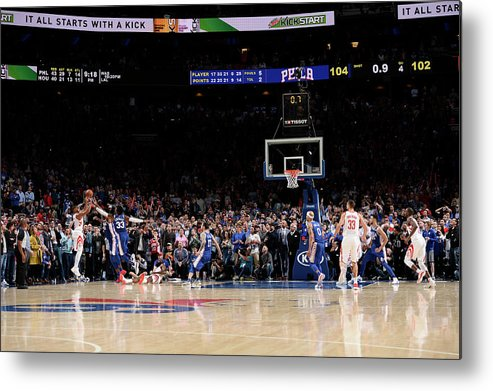 Nba Pro Basketball Metal Print featuring the photograph Eric Gordon by David Dow