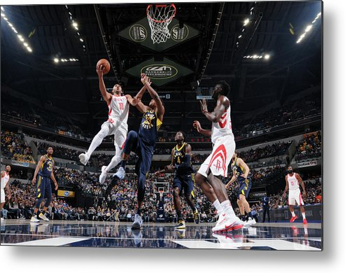 Nba Pro Basketball Metal Print featuring the photograph Eric Gordon by Ron Hoskins
