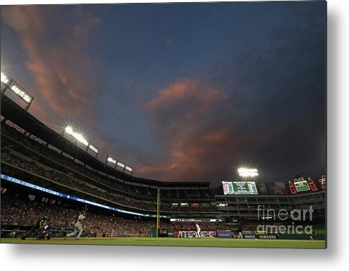 People Metal Print featuring the photograph Eric Hosmer by Ronald Martinez