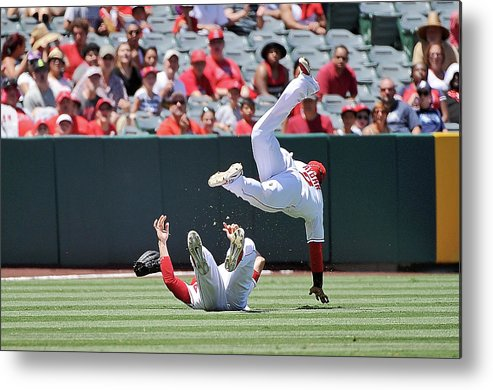 People Metal Print featuring the photograph Erick Aybar by Jonathan Moore