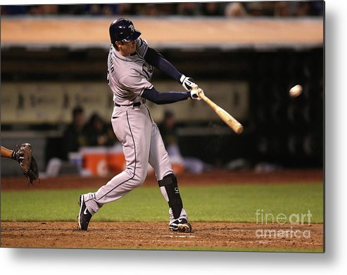 People Metal Print featuring the photograph Evan Longoria by Jed Jacobsohn