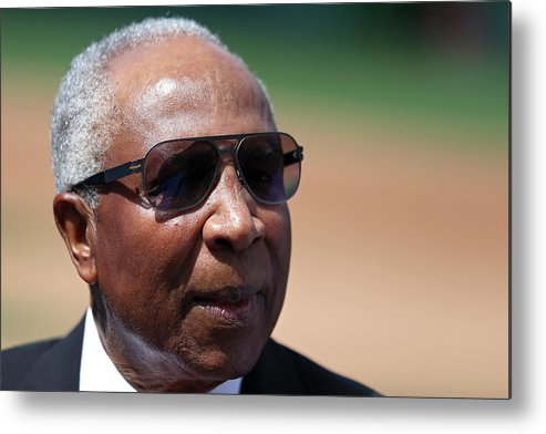 People Metal Print featuring the photograph Frank Robinson by Patrick Smith