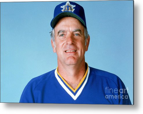 1980-1989 Metal Print featuring the photograph Gaylord Perry by Mlb Photos