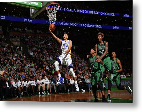 Nba Pro Basketball Metal Print featuring the photograph Gerald Green by Brian Babineau