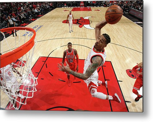 Nba Pro Basketball Metal Print featuring the photograph Gerald Green by Gary Dineen