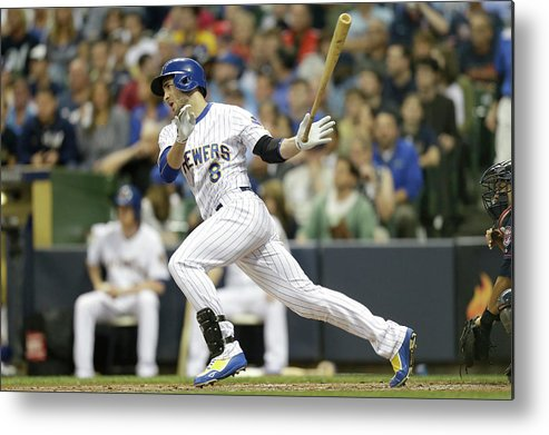 People Metal Print featuring the photograph Gerardo Parra and Carlos Gomez by Mike Mcginnis