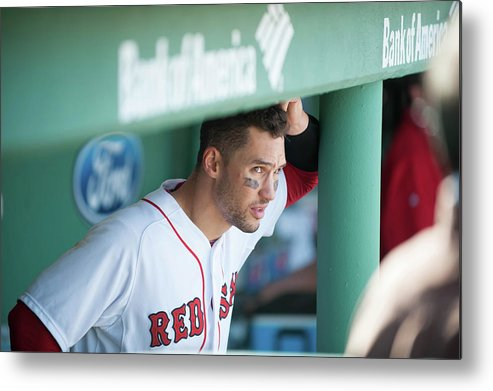 East Metal Print featuring the photograph Grady Sizemore by Rob Tringali