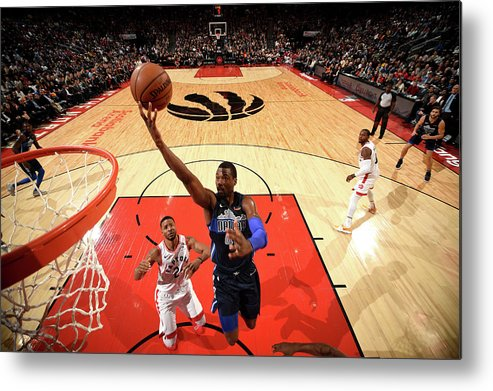 Nba Pro Basketball Metal Print featuring the photograph Harrison Barnes by Ron Turenne