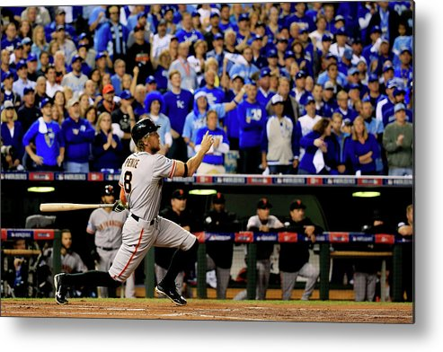 People Metal Print featuring the photograph Hunter Pence by Rob Carr