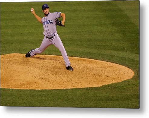 Ninth Inning Metal Print featuring the photograph Huston Street by Justin Edmonds