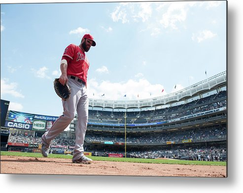 American League Baseball Metal Print featuring the photograph Ian Stewart by Rob Tringali