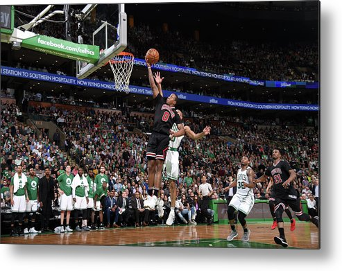 Playoffs Metal Print featuring the photograph Isaiah Canaan by Brian Babineau