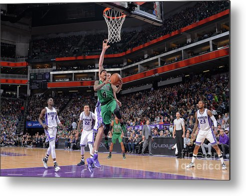 Nba Pro Basketball Metal Print featuring the photograph Isaiah Thomas by Rocky Widner