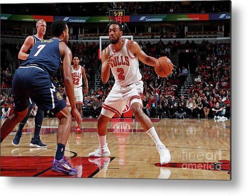 Nba Pro Basketball Metal Print featuring the photograph Jabari Parker by Jeff Haynes
