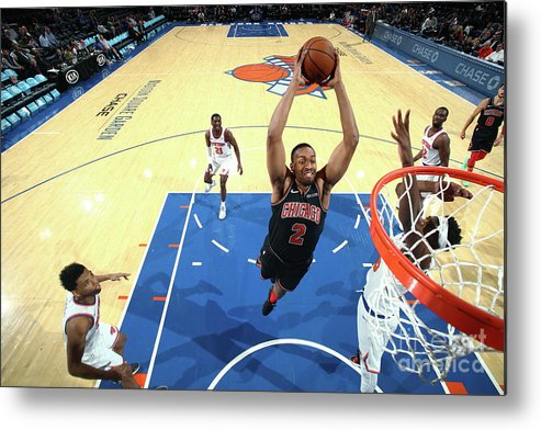 Nba Pro Basketball Metal Print featuring the photograph Jabari Parker by Nathaniel S. Butler