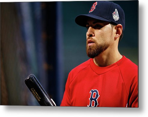 American League Baseball Metal Print featuring the photograph Jacoby Ellsbury by Jared Wickerham