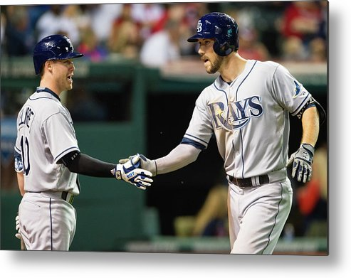 Jake Elmore Metal Print featuring the photograph Jake Elmore and Steven Souza by Jason Miller