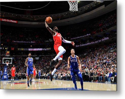 Nba Pro Basketball Metal Print featuring the photograph James Ennis by Jesse D. Garrabrant