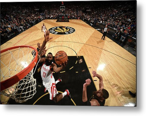 Nba Pro Basketball Metal Print featuring the photograph James Harden by Ron Turenne