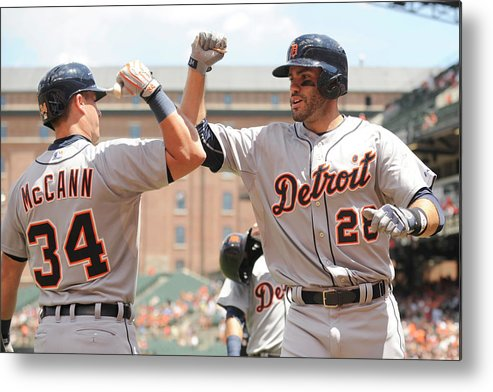 People Metal Print featuring the photograph James Mccann by Mitchell Layton