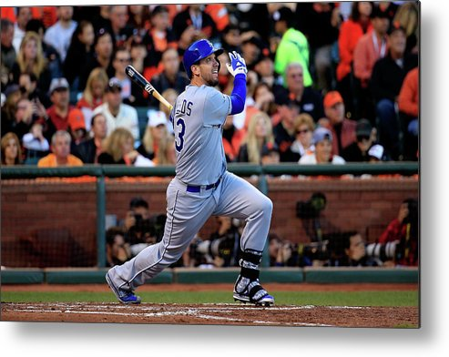 San Francisco Metal Print featuring the photograph James Shields by Rob Carr