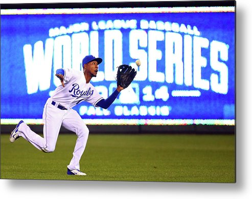 Game Two Metal Print featuring the photograph Jarrod Dyson by Dilip Vishwanat