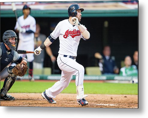 People Metal Print featuring the photograph Jason Kipnis by Jason Miller