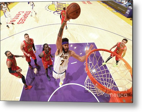 Nba Pro Basketball Metal Print featuring the photograph Javale Mcgee by Andrew D. Bernstein