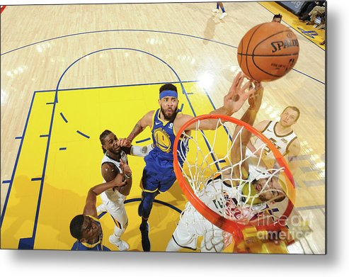 Nba Pro Basketball Metal Print featuring the photograph Javale Mcgee by Noah Graham