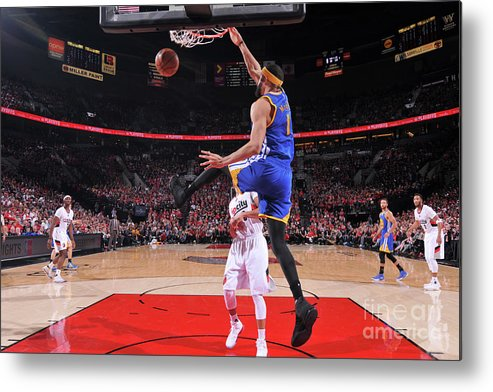 Playoffs Metal Print featuring the photograph Javale Mcgee by Sam Forencich