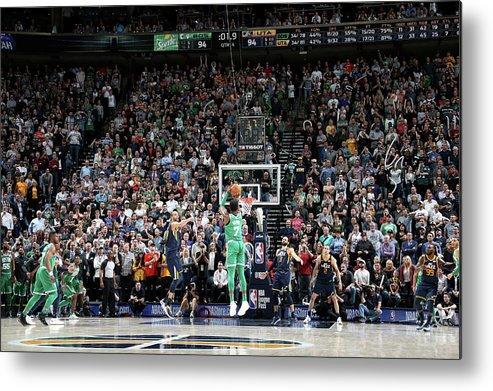 Nba Pro Basketball Metal Print featuring the photograph Jaylen Brown by Melissa Majchrzak