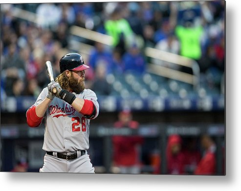 American League Baseball Metal Print featuring the photograph Jayson Werth by Taylor Baucom