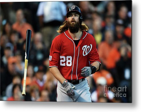 San Francisco Metal Print featuring the photograph Jayson Werth by Thearon W. Henderson