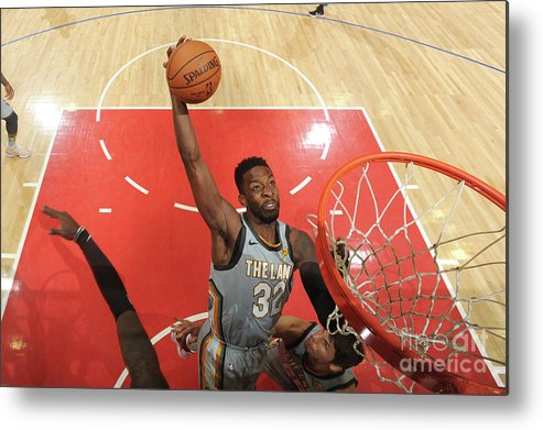 Nba Pro Basketball Metal Print featuring the photograph Jeff Green by Andrew D. Bernstein